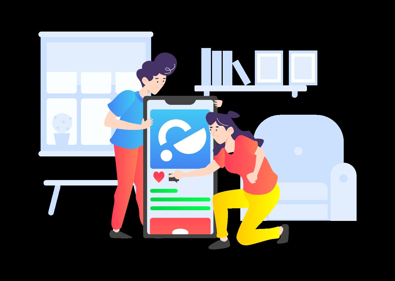 SEO-unlimited-Illustration-Like-Startup