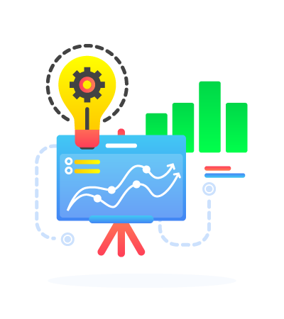 SEO-unlimited-Services-Illustration-Concept-Graph-Charts