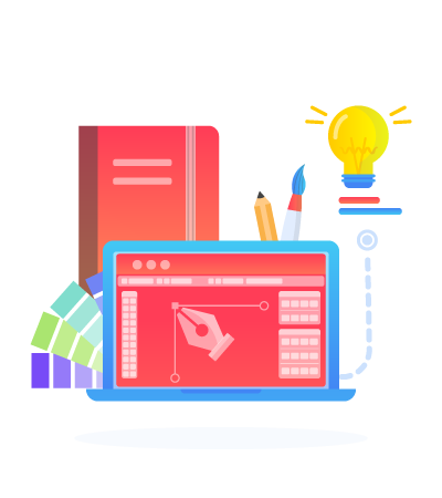 SEO-unlimited-Services-Illustration-Graphic-Design